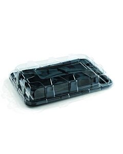 Large Clear Lids for Large Rectangular Platters Recyclable