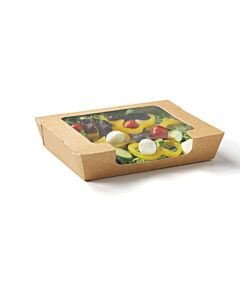 1000cc RapTray Food Tray - Large with Window Recyclable