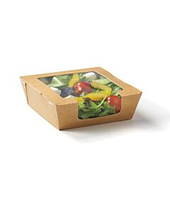 650cc RapTray Food Tray - Small with Window Recyclable