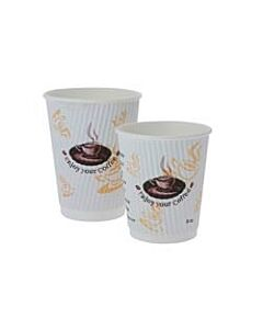 12oz Enjoy Ripple Cups Recyclable