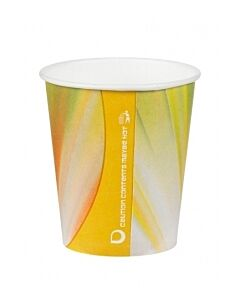 7oz Squat Paper Vending Cups Recyclable