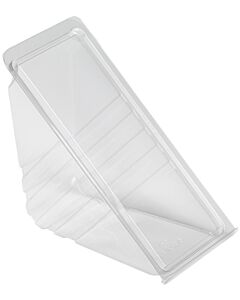 Deepfill Plastic Deepfill Hinged Sandwich Wedges Recyclable