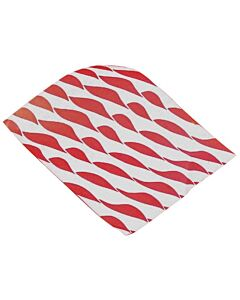 250x320mm Small Twist Burger Wraps Red
