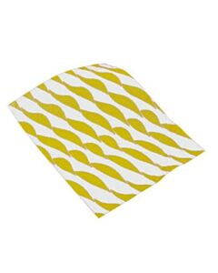 250x320mm Small Twist Burger Wraps Yellow