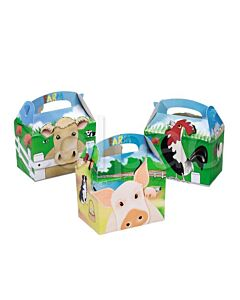 Farmyard Party Boxes Recyclable