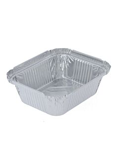 480cc No. 2 Aluminium Foil Food Containers Recyclable