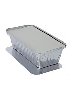 1500cc Lids for 1/3 Gastronorm Foil Containers Recyclable