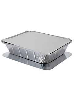 Half Length - GN1/2 Lids for 1/2 Gastronorm Foil Container Recyclable