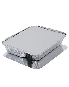 Lids for 3 Compartment Trays Recyclable