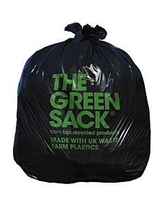 15kg Black Refuse Bin Bag Recyclable
