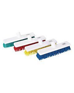 "18"" Green Washable Broom - Soft Bristles"