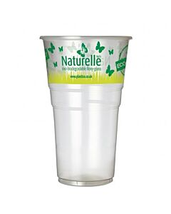 Oxo Degradable Naturelle Printed Pint Rumbler