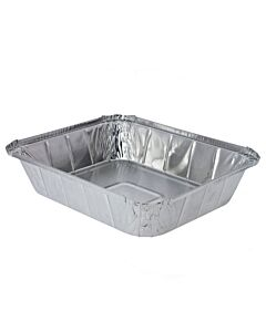 Half Length - GN1/2 1/2 Gastronorm Foil Food Container Recyclable