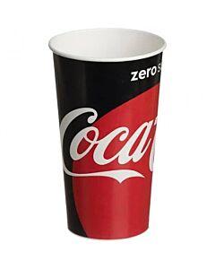 22oz Coca Cola Zero Cold Cups Recyclable