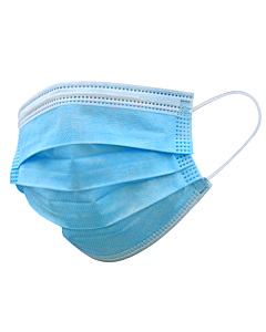 TR2 3ply Blue Paper Face Mask
