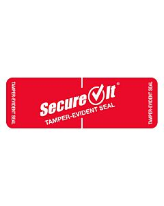 SecureIt Tamper Evident Labels for Takeaway & Delivery