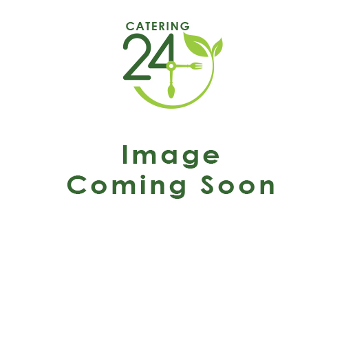 Black Melamine Slanted Buffet Bowl 21 x 20 x 10cm