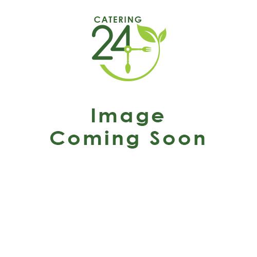 Black Melamine Round Buffet Bowl 25.7cm