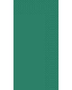 33cm Duni 3Ply Napkin Dark Green Bookfold