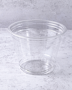 1000 x 9oz Clear Smoothie 100% Recyclable Plastic Cups