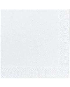 24cm White Tissue Paper Napkin 2ply Compostable