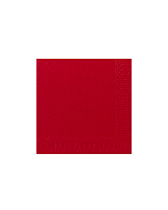 40 x 40cm Duni 2ply Napkin Red Compostable
