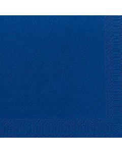 40 x 40cm Duni Dark Blue Tissue Napkin 2ply Compostable