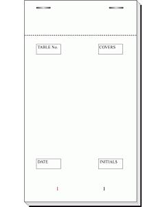 95 x 170mm Large Waiters Bar Order Pad Duplicate Carbon PAD30