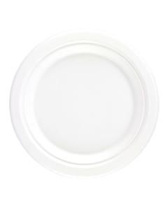 "25.4cm (10"") Bagasse Plates Compostable"