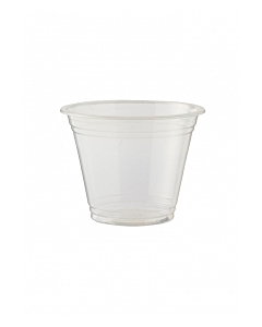 9oz Compostable Clear Smoothie Cups PLA