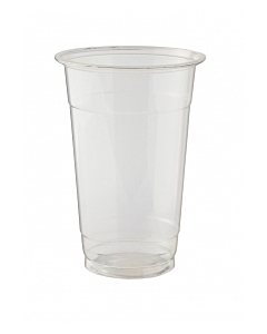 20oz Compostable Clear Smoothie Cups PLA