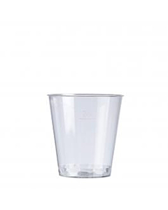 30ml Plastic Shot Glass - to Brim Recyclable