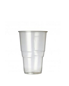 Oxo Biodegradable Flexy Glass CE Marked 1/2 Pint to Brim