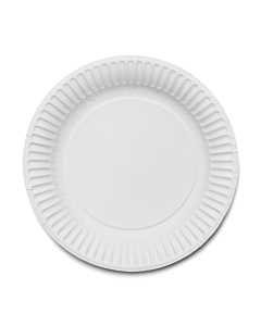 """180mm (7"""") Paper Plates Recyclable"""