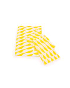 330x460mm Twist Burger Wraps Yellow