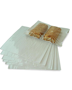 """10 x 10"""" White film fronted - 250 x 250mm"""