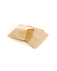 """8.5 x 8.5"""" Brown Greaseproof (Scotchban) Paper Bags"""