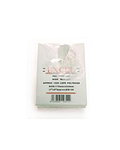 """8 x 10"""" Excel Polythene Bags Recyclable"""