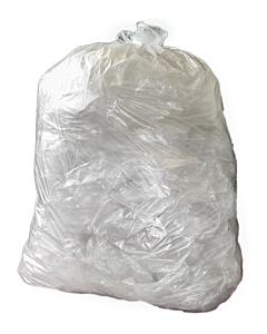 10kg Refuse Bin Bag Clear Recyclable