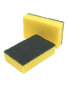 14 x 9 x 3.3cm Hand Sponge Scourer Pads