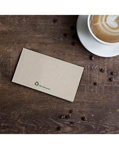 32x30cm Kraft 1ply Recycled PaperNapkins Compostable
