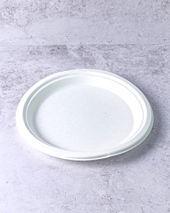 """22.9cm (9"""") Bagasse Plate Compostable"""
