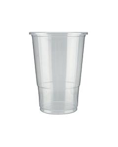 Flexy Plastic Glasses Half Pint To Brim Recyclable