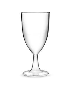 Tulip Plastic Wine Glasses