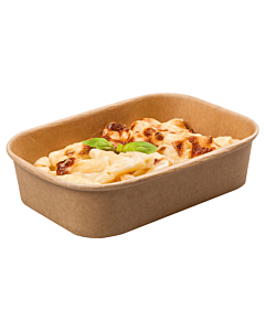 Stagione 500cc Kraft Recyclable Microwavable Food Container Base