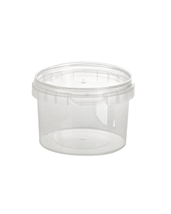180ml Round Tamper Evident Container & Lids Recyclable