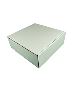 Corrugated 11 inch Cake Box 4 inch tall
