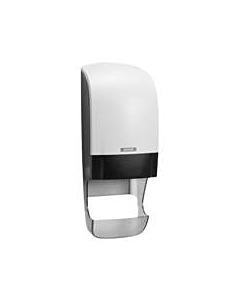 Dispenser With Core Catcher - White