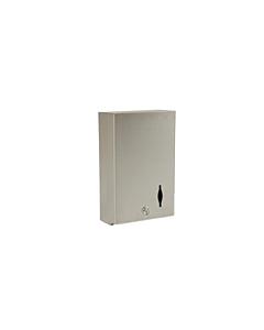 Multi Fold Paper Dispenser Satin Stainless-Steel
