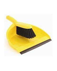 Yellow Dustpan & Brush